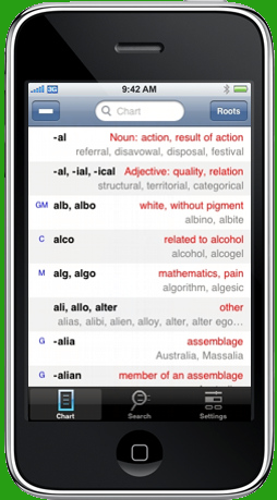 PrefixSuffix iPhone app